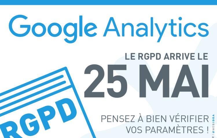 Mise à jour Google analytics pour mise en conformité RGPD
