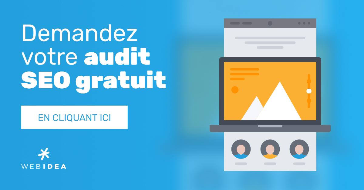 Audit SEO gratuit de votre site internet
