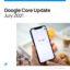 Google Core Update July 2021, mise à jour de l'algorithme Google
